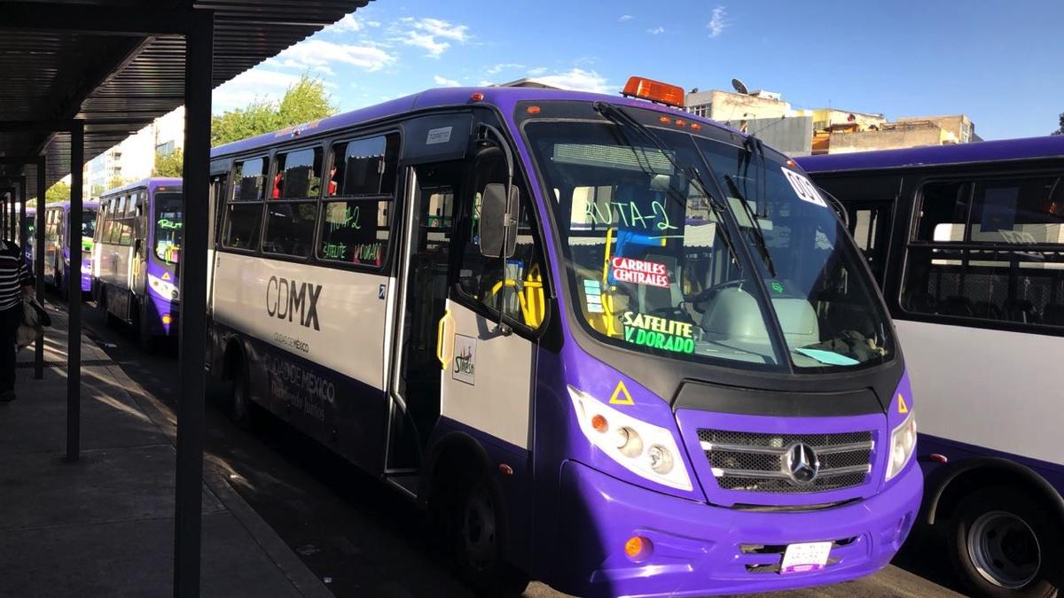 Autotransporte, vital para las actividades esenciales en CDMX