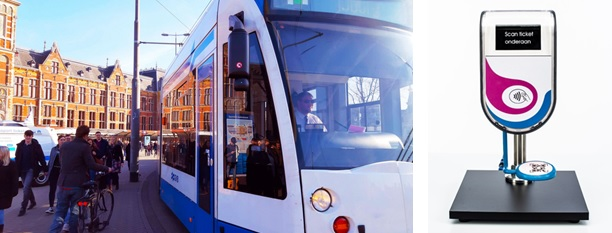 Thales equipará transporte público de Ámsterdam con lectores de tarjetas de alta tecnología