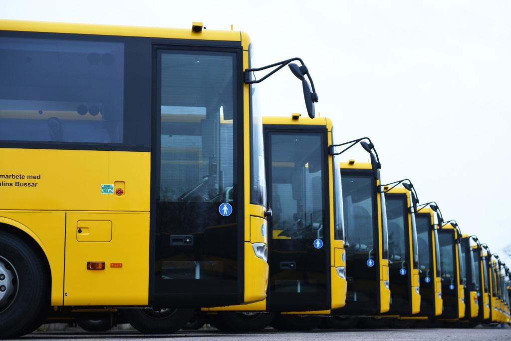 Daimler Buses entrega 112 autobuses interurbanos en Suecia