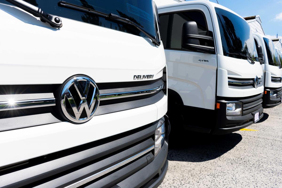 Volkswagen Camiones y Buses envía nueve unidades Delivery a Guatemala
