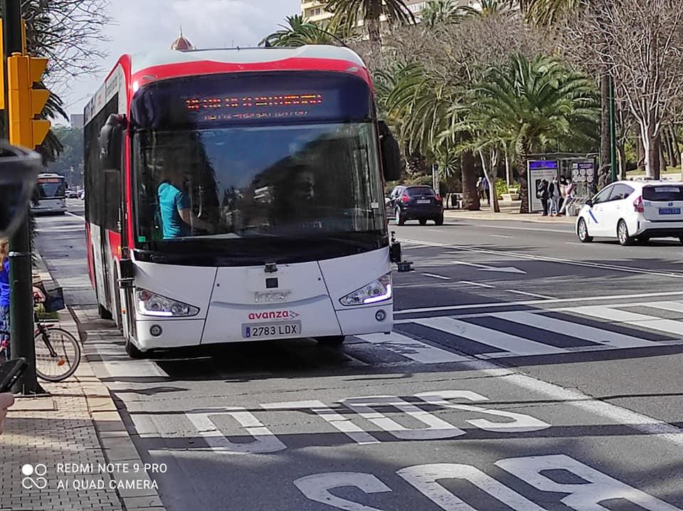 En Málaga, inicia pruebas el primer autobús autónomo de Europa