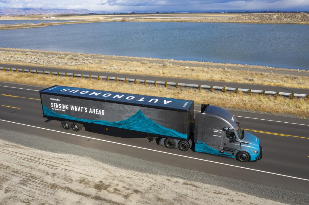 Amazon Web Services participará en el desarrollo de camiones autónomos de Daimler