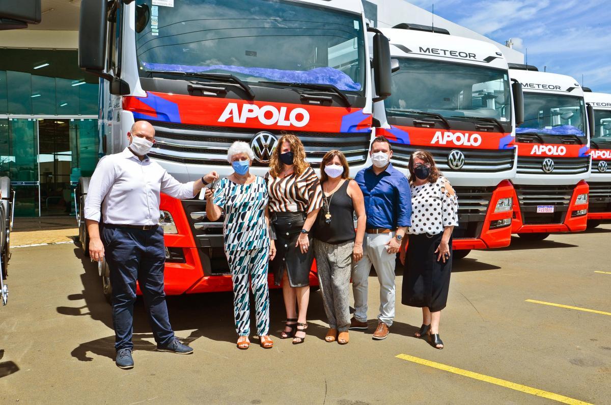 Apolo Transportes, una empresa fundada y dirigida por mujeres en Brasil