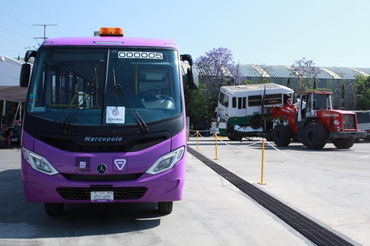 Va CDMX por sustitución de 6 mil microbuses de transporte público