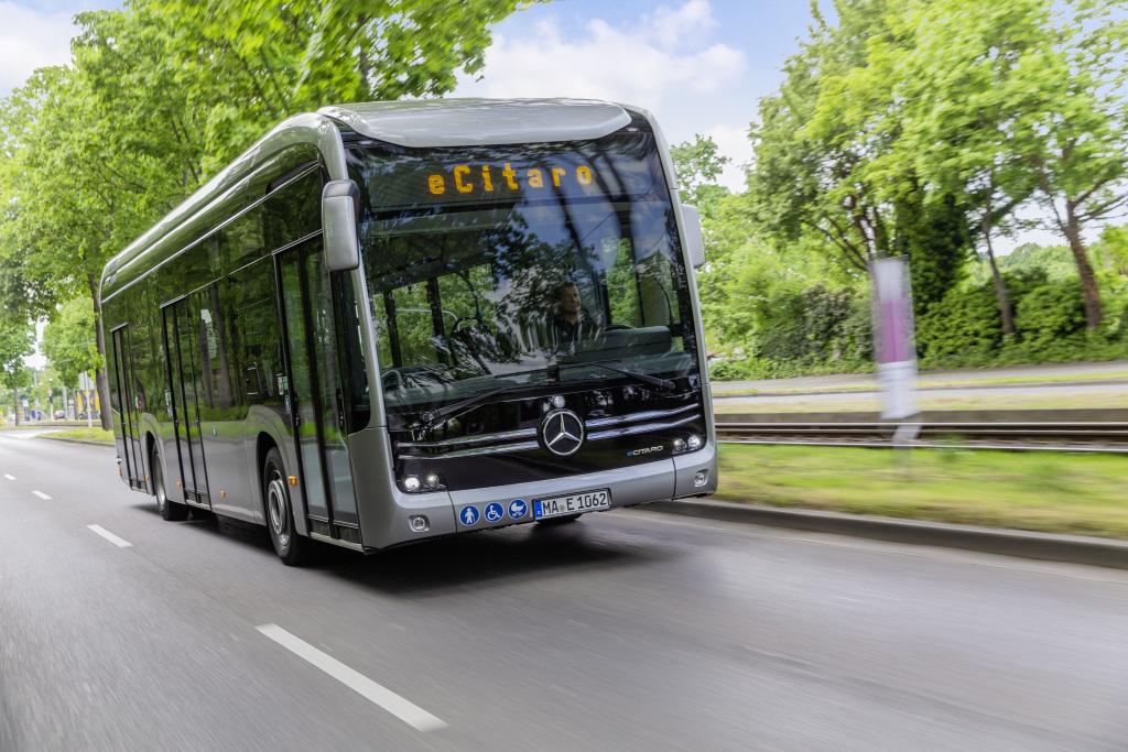 Operarán en Francia 10 autobuses Mercedes-Benz eCitaro