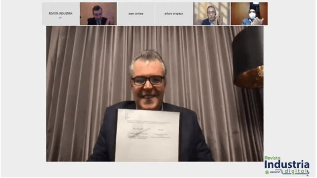 CONCAMIN y SNI de Perú firman Convenio de Alianza Estratégica