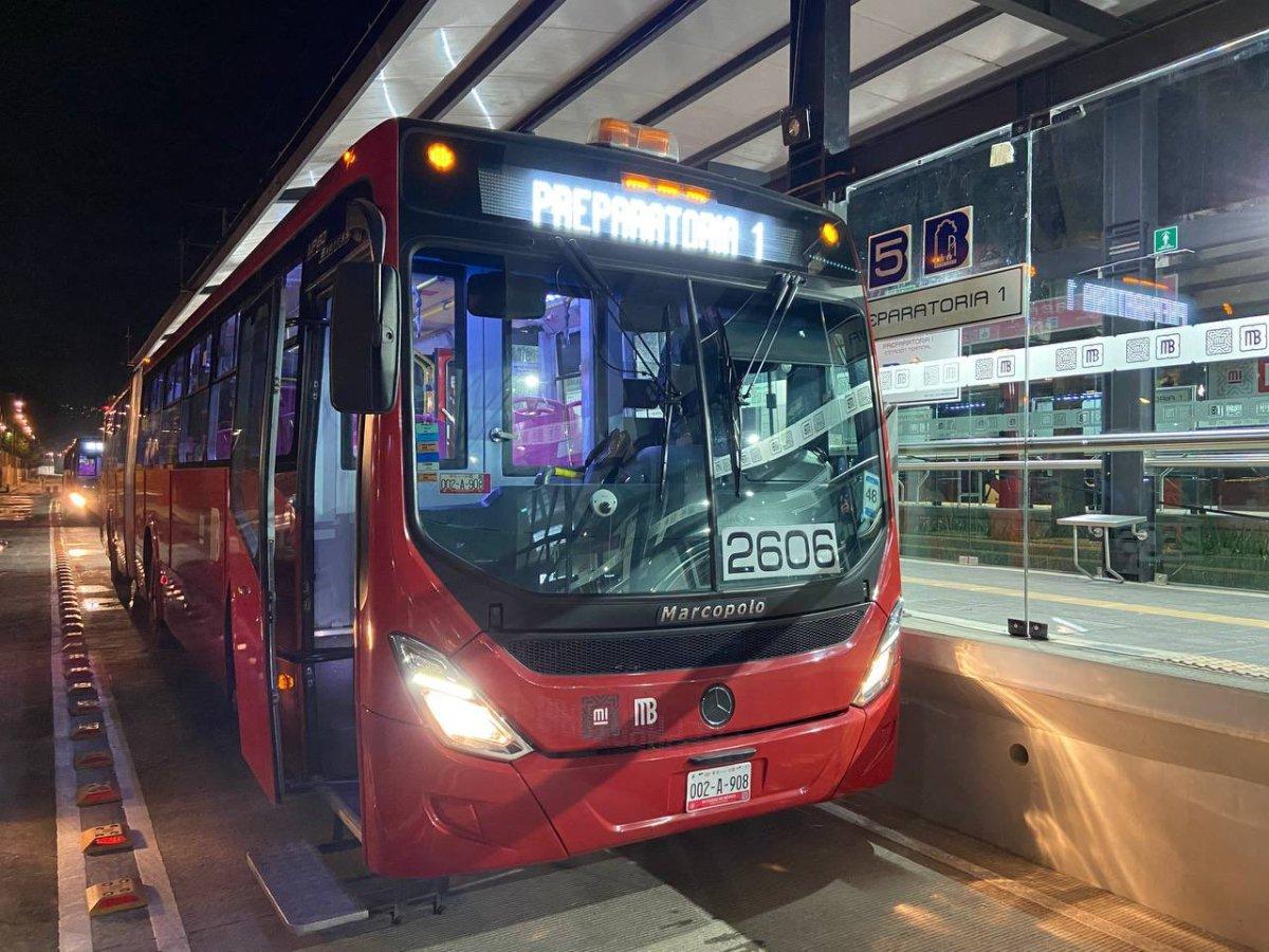 Ampliación de la Línea 5 del Metrobús entra en operaciones