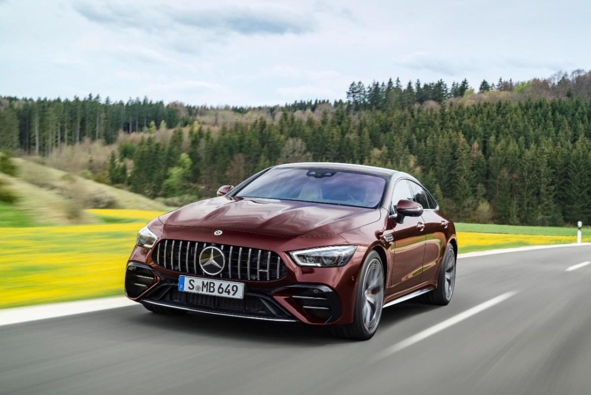 Mercedes-AMG GT Coupé de cuatro puertas llega con actualización de estilo