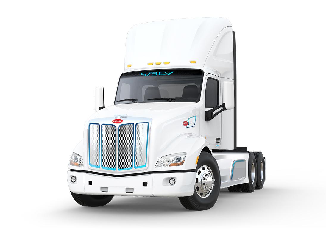 Recibe Peterbilt pedido por cinco camiones eléctricos modelo 579EV
