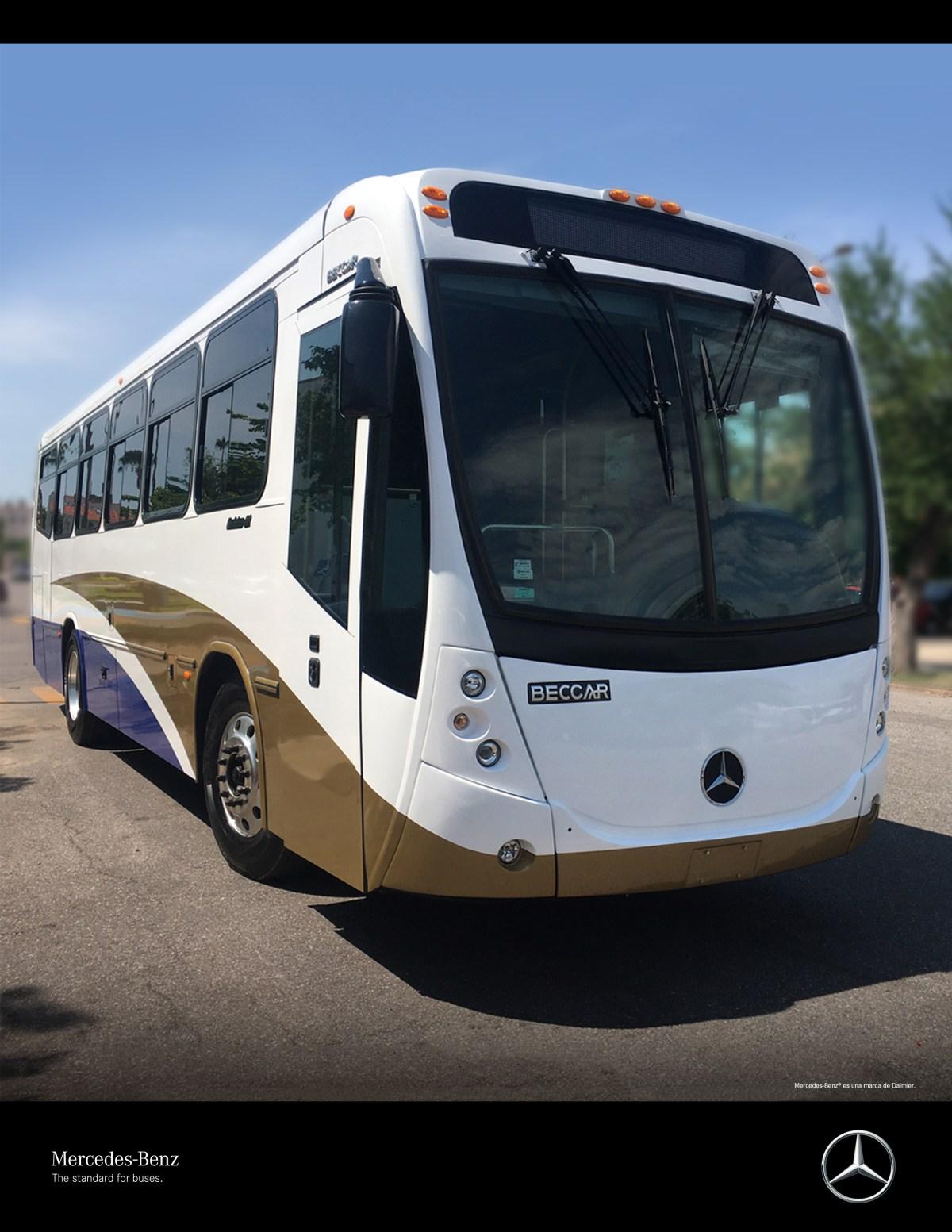 Mercedes-Benz Autobuses entregó una unidad a la Universidad de Sonora