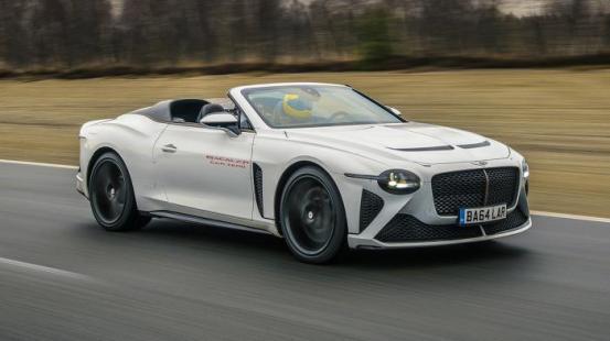 Το Bentley Bacalar στα τελικά στάδια των δοκιμών