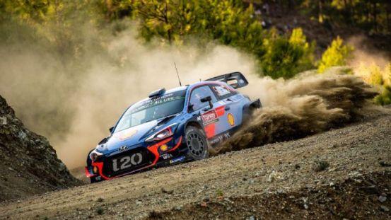 Δοκιμές Hyundai WRC στην Ελλάδα (+ βίντεο)