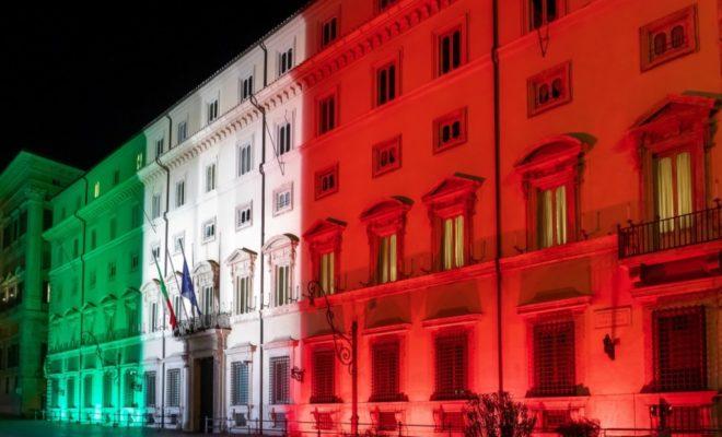 le drapeau italien origine et