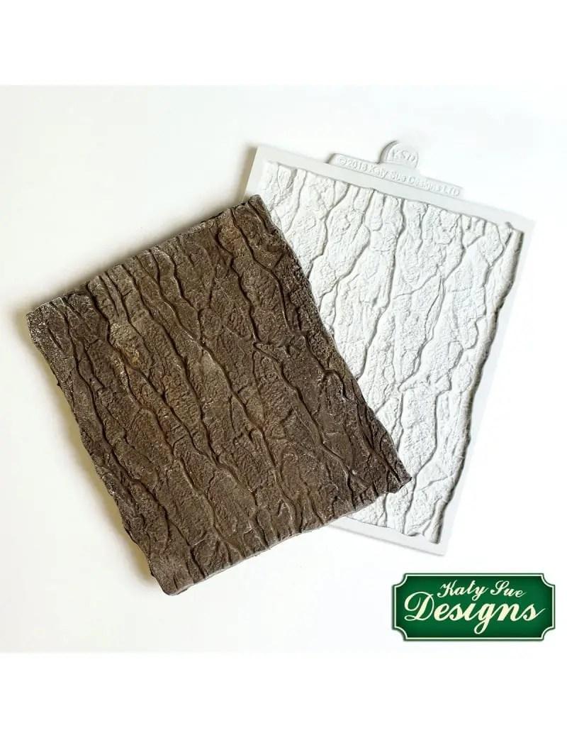 tapis silicone texture vieux bois
