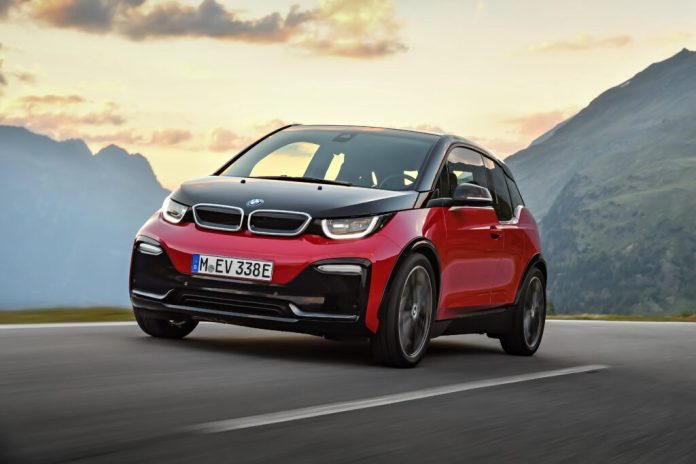 BMW i3S Electric Offensive from BMW