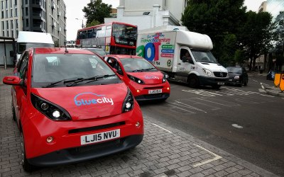 Bolloré's Bluecity electric car sharing launched in Hammersmith & Fulham