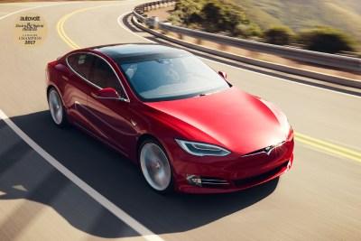 Autovolt awards 2017 Tesla Model S 100D