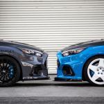Focus Rs Carbon Fiber Front Splitter Autoware