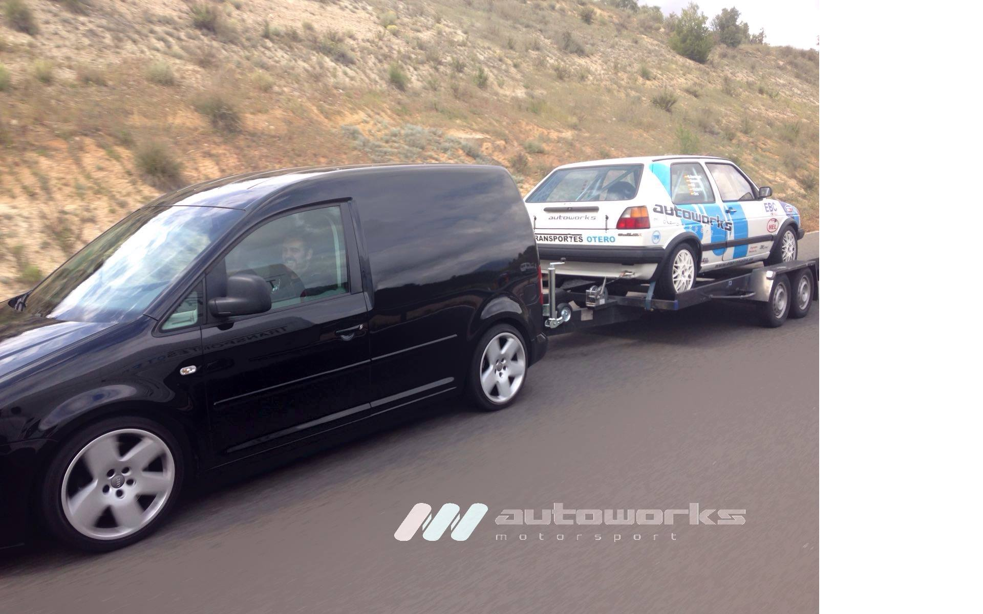 VW Golf 2 CLR transportes otero