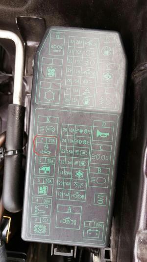 20A Fius For Proton Waja Cps  Automotive Maintenance