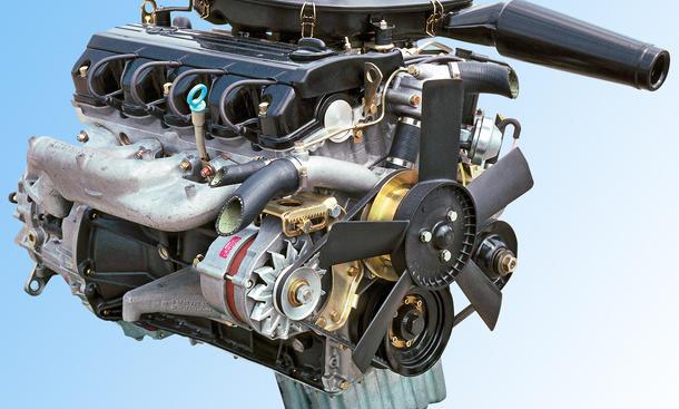 Mercedes M102 Vierzylinder Motor Im 230 E W123