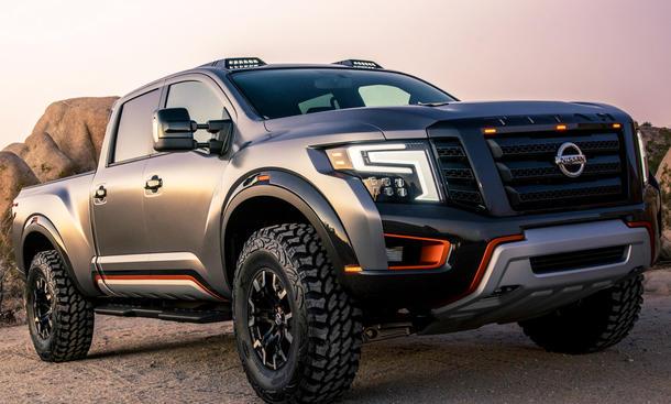 Nissan Titan Warrior Concept Naias 2016 Autozeitung De