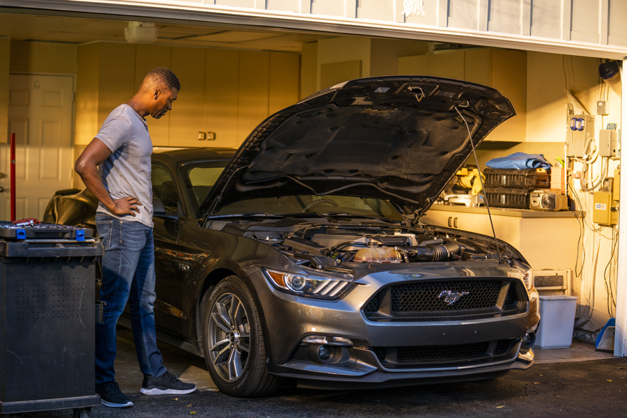 how to find and fix exhaust leaks