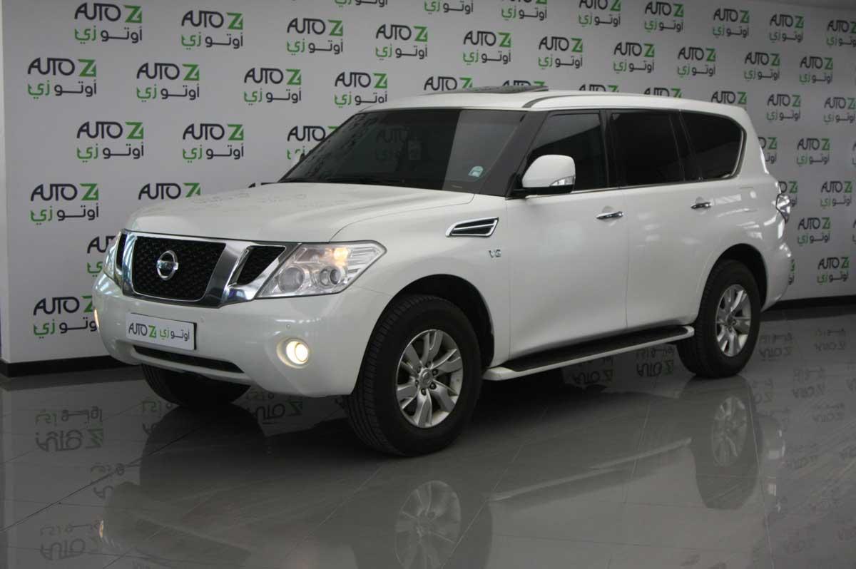 2012 Nissan Patrol Platinum