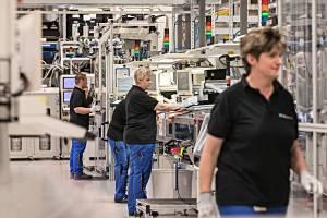 Daimler hat in die Batteriefabrik in Kamenz massiv investiert. Foto: Daimler