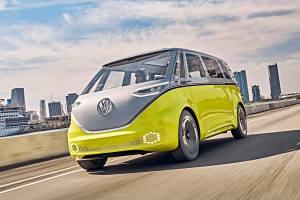 Der VW I.D. Buzz fährt elektrisch und autonom. Foto: VW