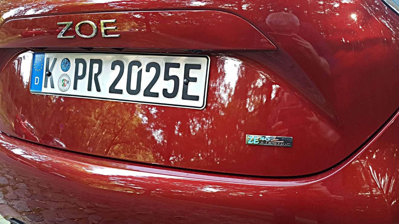 Zero Emission: Der Renault Zoe. Foto: Mertens