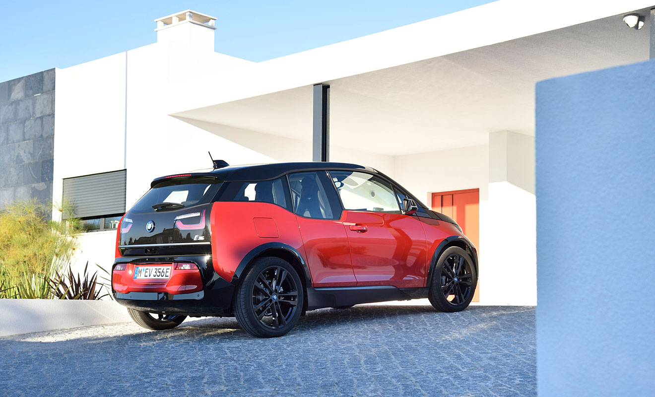 Das Heck des BMW i3s. Foto: BMW