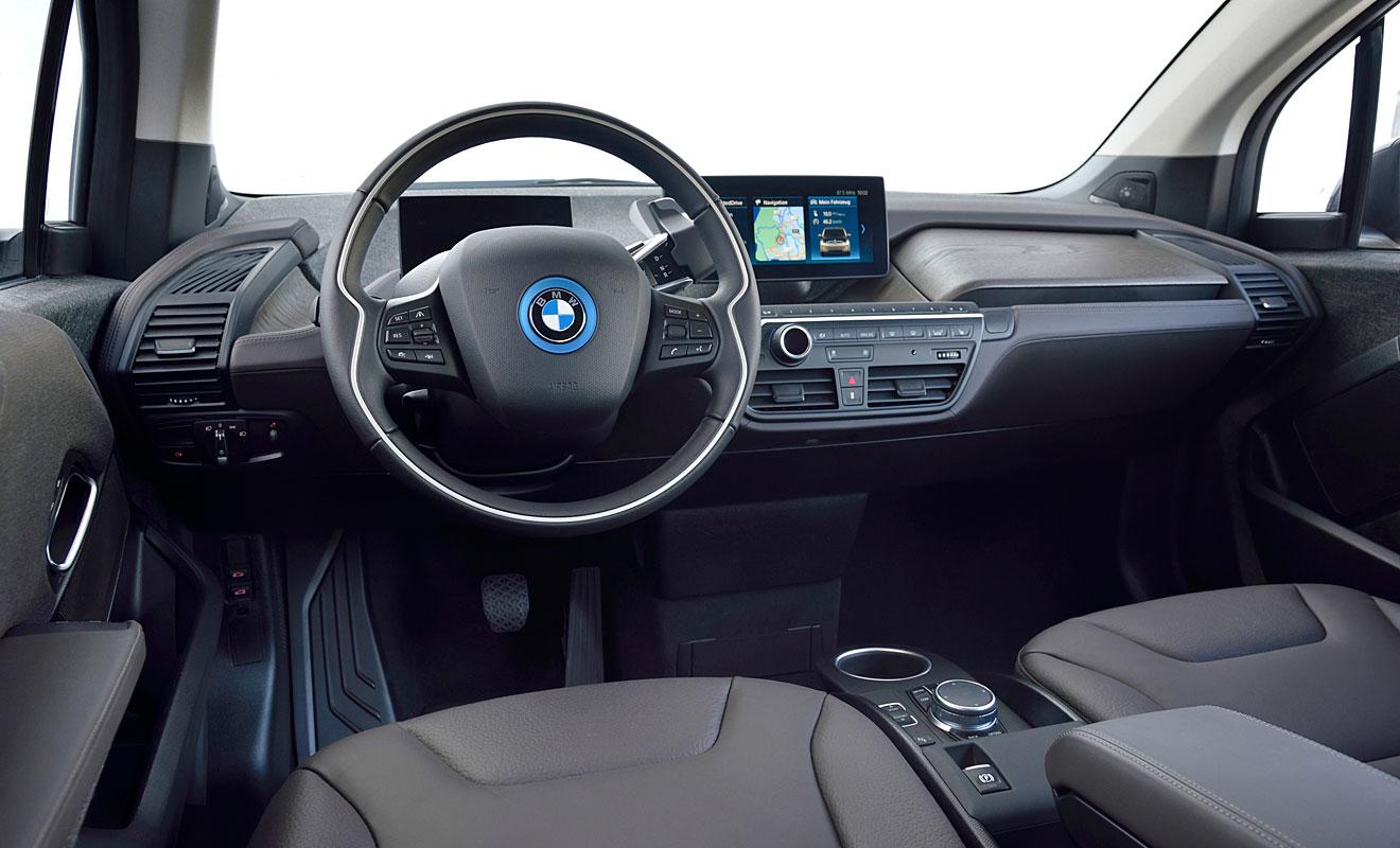 Das Cockpit des i3s. Foto: BMW