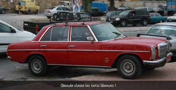 taxi libanais - l'autre ailleurs au Liban, une autre idée du voyage