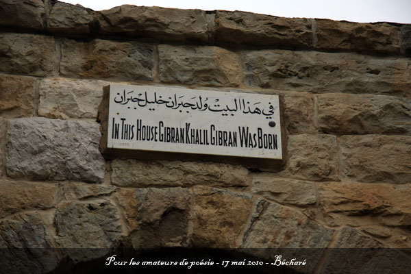 la ville du poète - Bécharé