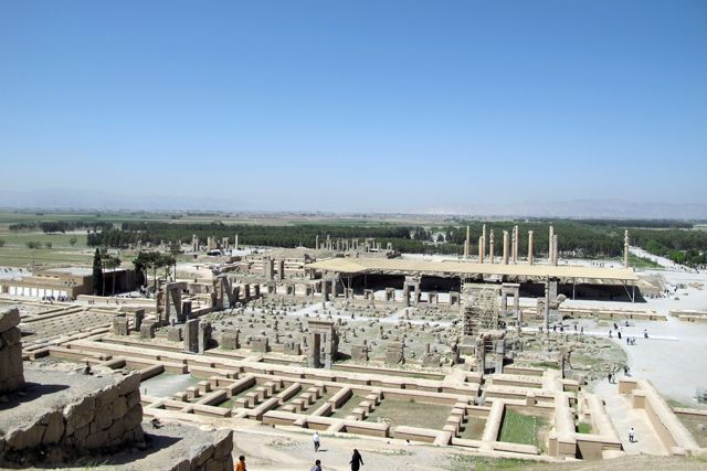 Le magnifique site de Persépolis - l'autre ailleurs en Iran, une autre idée du voyage