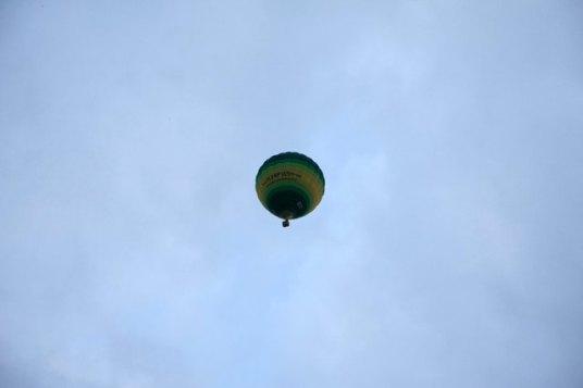 la Cappadoce en ballon