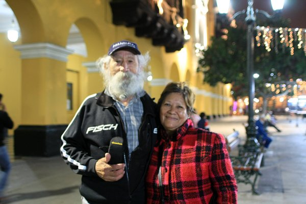 Nati & Franklin, une belle rencontre dans les rues de Lima