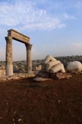 La citadelle d'Amman