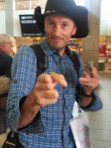 jouant au cowboy à Calgary