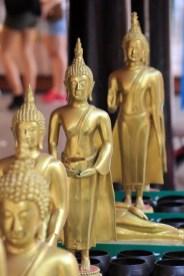 des bouddhas