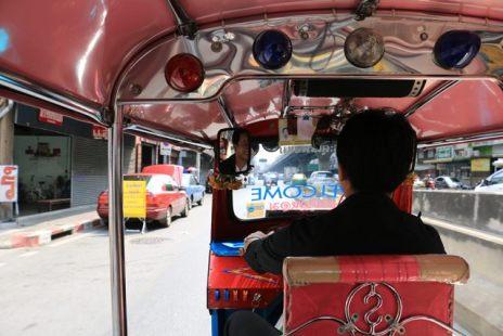 Tuk-tuk à Bangkok (Thaïlande) - l'autre ailleurs, une autre idée du voyage