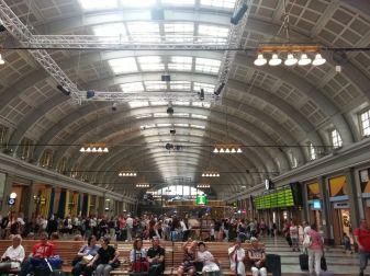 la gare de Stockholm