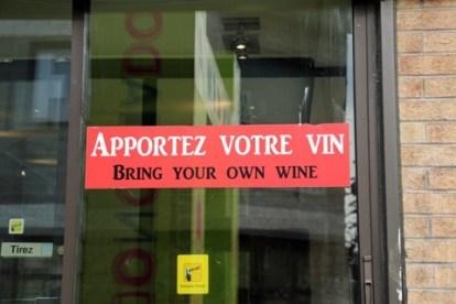 Apportez votre vin