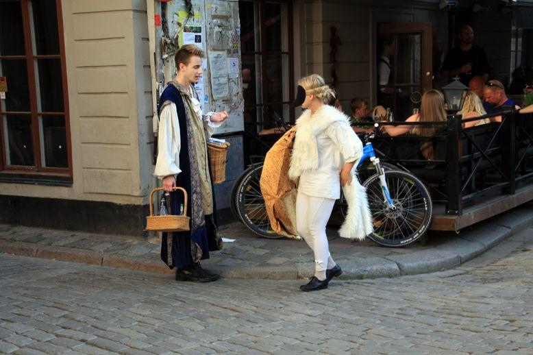 théâtre dans la rue