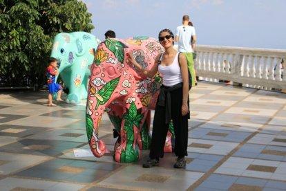 Oh un éléphant rose (Doi Suthep)