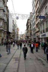 dans le quartier Taxim à Istanbul