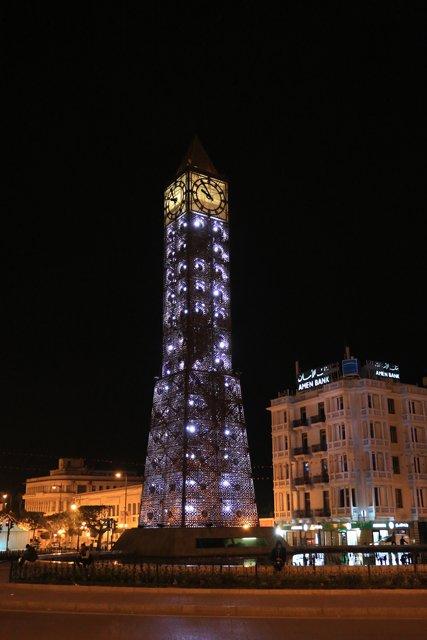 Tunis de nuit