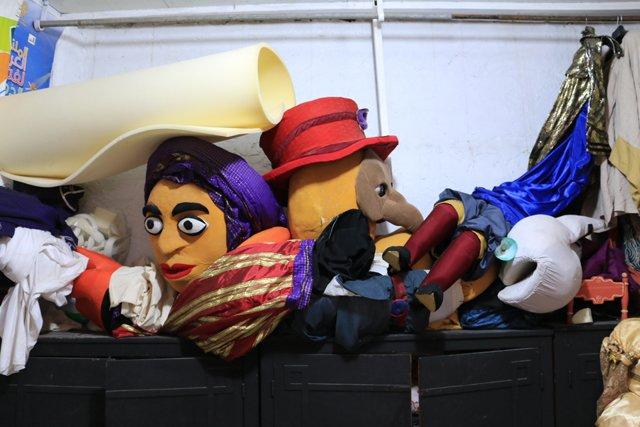 L'atelier du Centre National des Arts de la Marionnette
