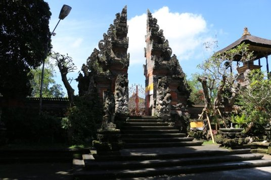 un temple fermé à la visite